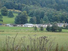 C Tiso. Three Houses, Trean Farm, Callander