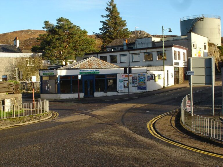 Compass. Mixed Use Commercial & Residential, Station Road, Kyle of Lochalsh