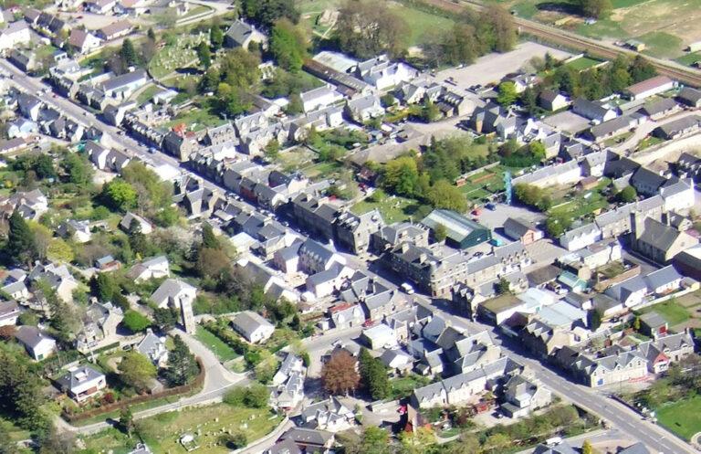 Davall Developments Ltd. Masterplan 300 Houses, Dunbarry Road, Kingussie