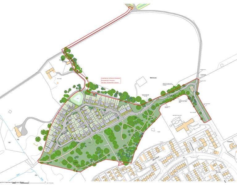 Deveron Homes Ltd. Development Masterplan, Invergordon